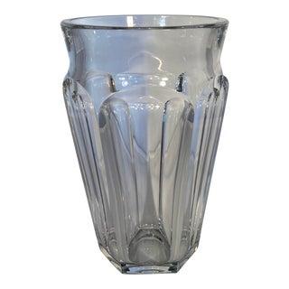 Vintage Baccarat Crystal Flower Vase For Sale