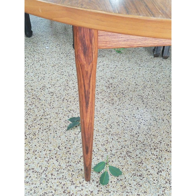 1960's Danish Mid-Century Modern Style Rosewood Dining Table For Sale - Image 11 of 12