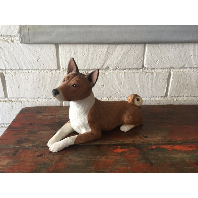 Basenji Dog Statue - Image 2 of 10