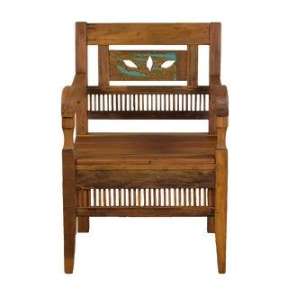 Reclaimed Wood Bali Armchair