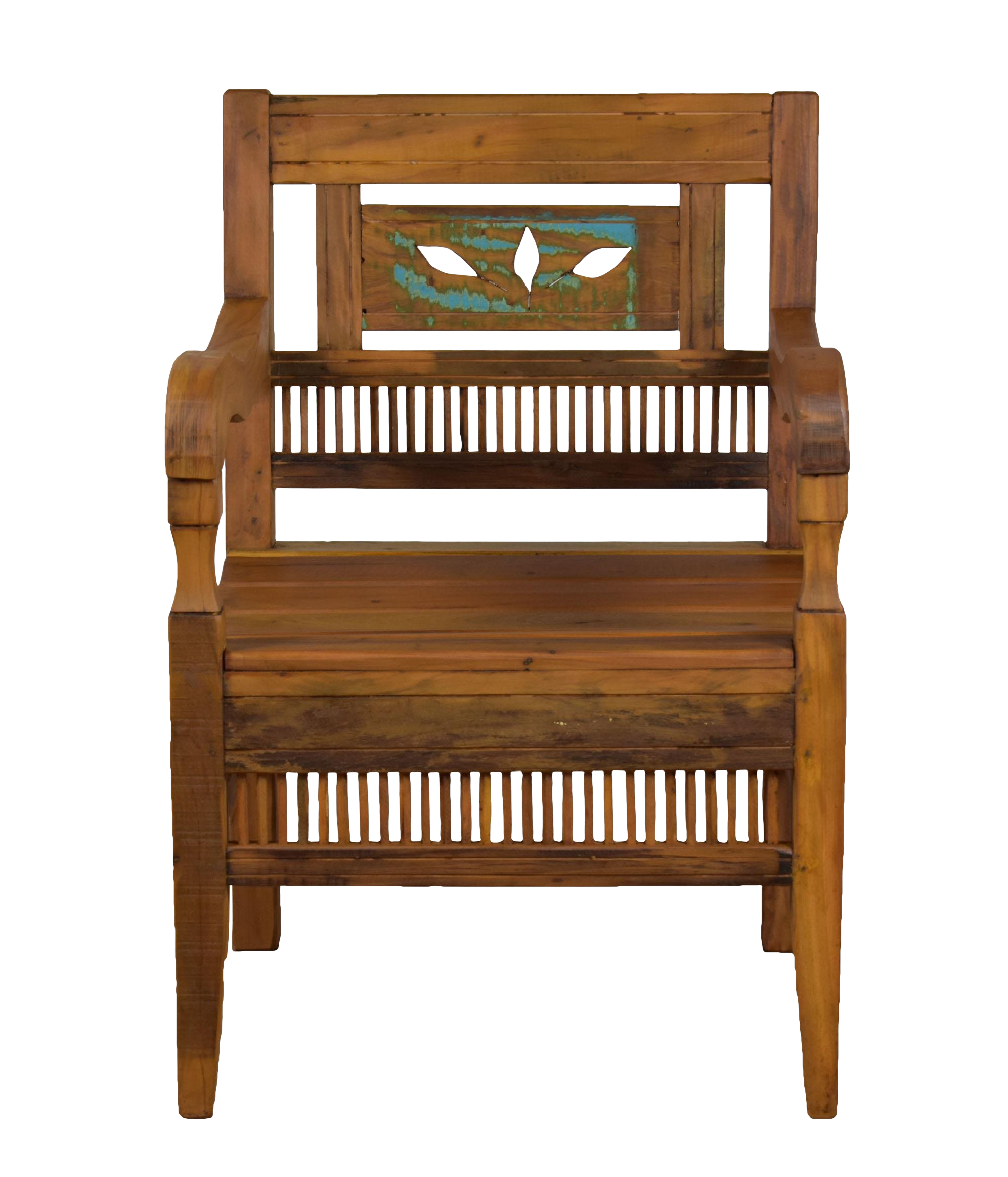 Reclaimed Wood Bali Armchair