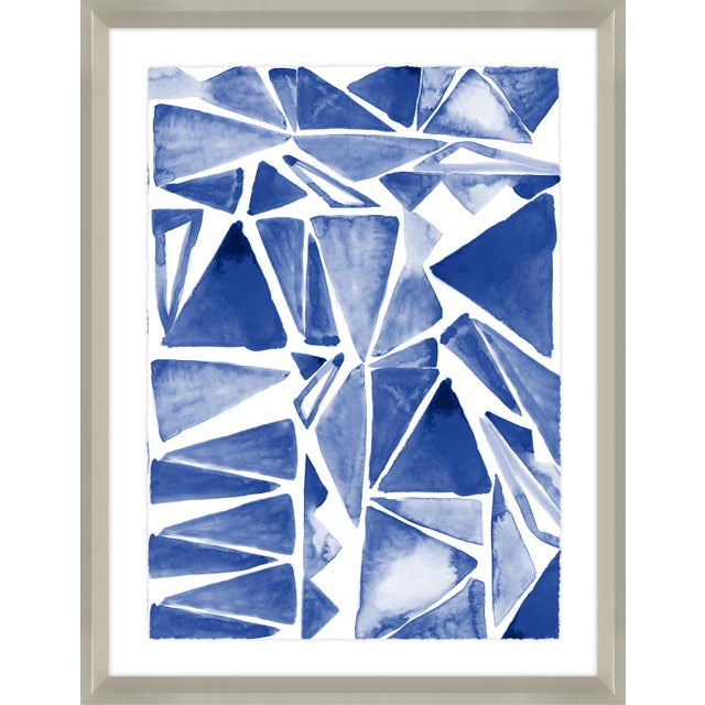 Sapphire Chinoiserie Print Set Framed Kenneth Ludwig Chicago - 17 Pieces For Sale - Image 9 of 12