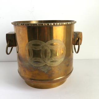 Vintage Asian Brass Planter Preview