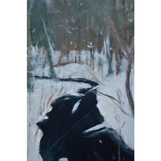 "Contemporary Stephen Remick ""Bend at Destruction Brook"" Contemporary Painting For Sale - Image 3 of 9"