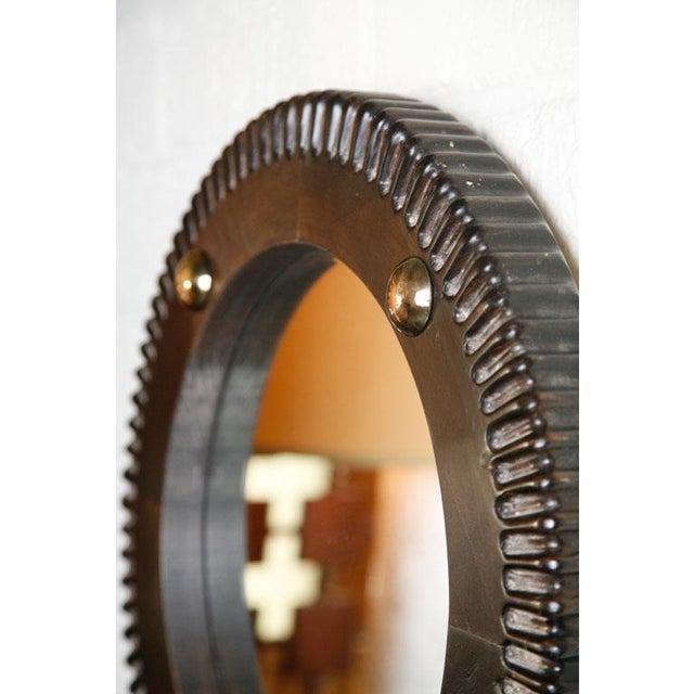 Paul Marra Gear Style Mirror - Image 6 of 8