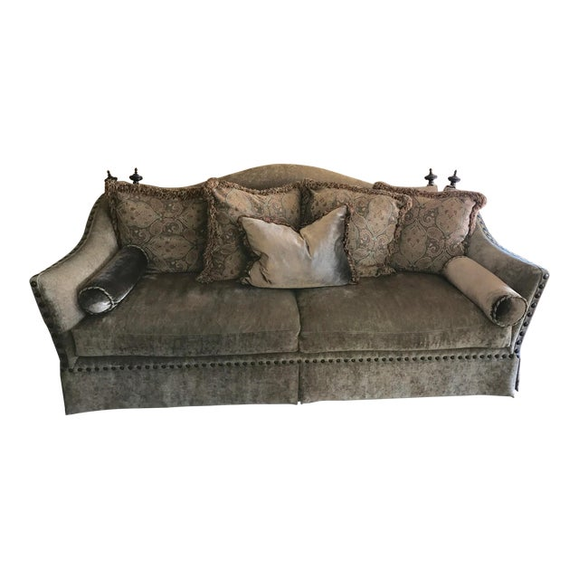 Marge Carson Style Sofa For Sale
