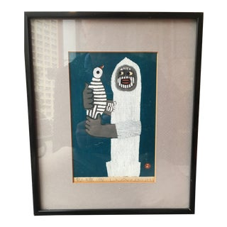 Pencil Signed 1972 Umetaro Azechi Woodblock For Sale