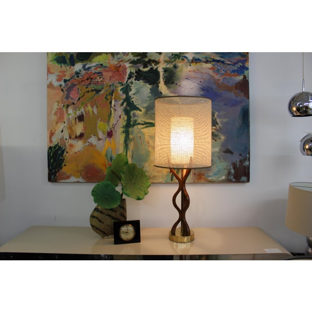 Mid Century Modern danish table lamp For Sale - Image 9 of 11
