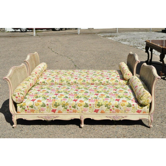 Early 20th Century French Louis XV Style Daybeds- a Pair For Sale - Image 4 of 12