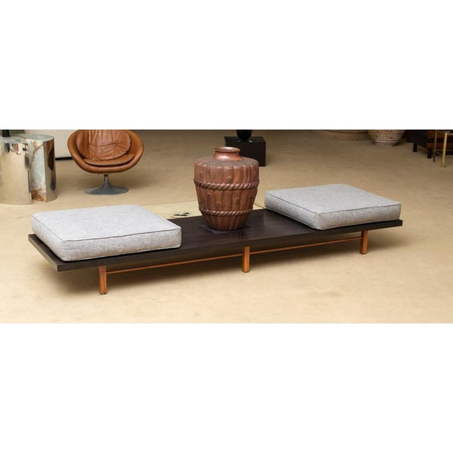 Contemporary Milo Baughman for Thayer Coggin Low Table or Gallery Bench With Cushions For Sale - Image 3 of 13
