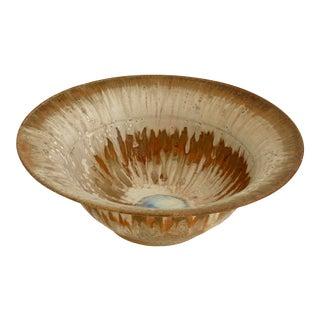 Modern Studio Art Pottery Bowl For Sale