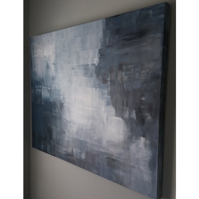 """Shale"" Original Abstract Painting by Kris Gould - Image 5 of 5"