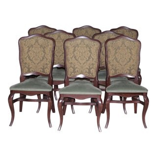 Scottish Style Dining Chairs - Set of 8 For Sale