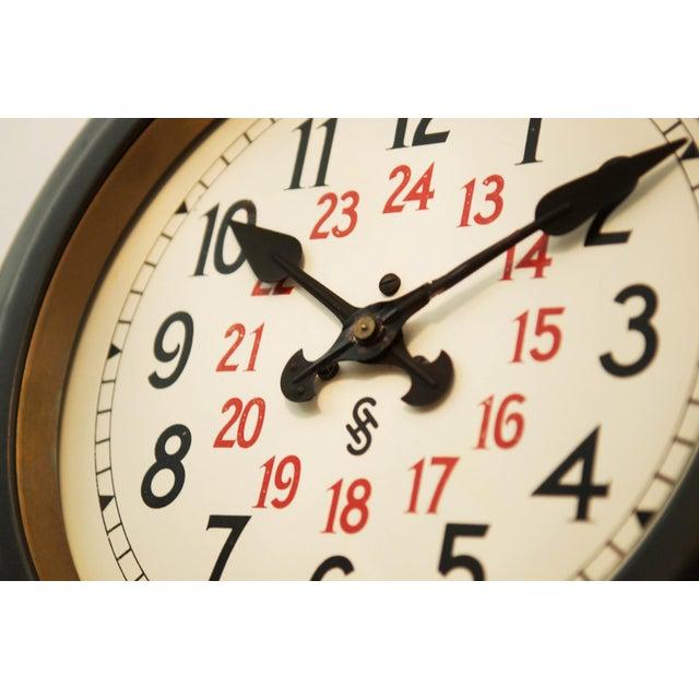 Bauhaus Workshop Wall Clock by Siemens Halske, 1930s For Sale - Image 4 of 7