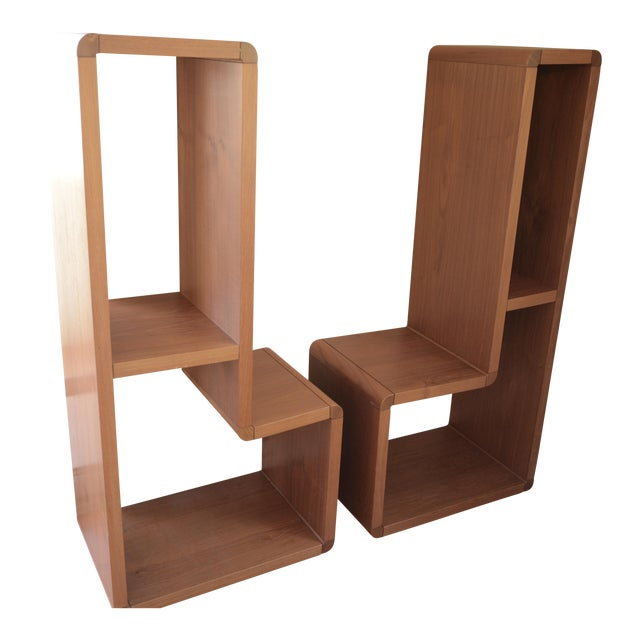 Danish Modern Entertainment Center - A Pair - Image 1 of 7