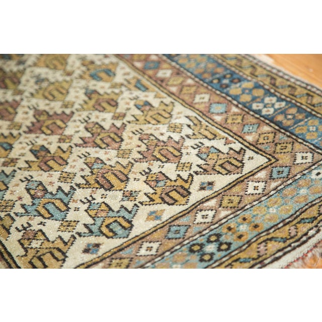 "Vintage Caucasian Square Rug -1'11"" x 2'6"" For Sale - Image 5 of 8"