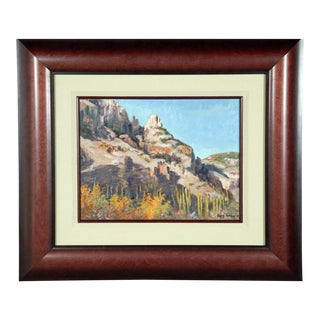 Finger Rock Canyon Arizona Landscape Painting For Sale