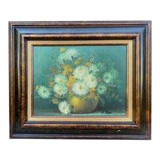 Original Floral Oil Painting For Sale