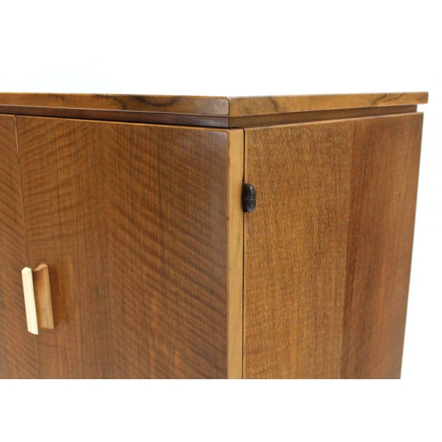 Vintage Mid Century Tiger Maple Sideboard For Sale - Image 6 of 9