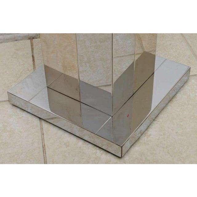 "Paul Evans Paul Evans Dual Metal ""Cityscape"" Floor Lamp For Sale - Image 4 of 10"