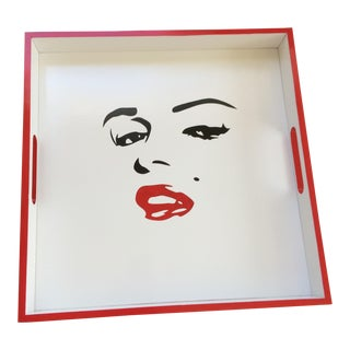 Marilyn Monroe Inspired Serving Tray