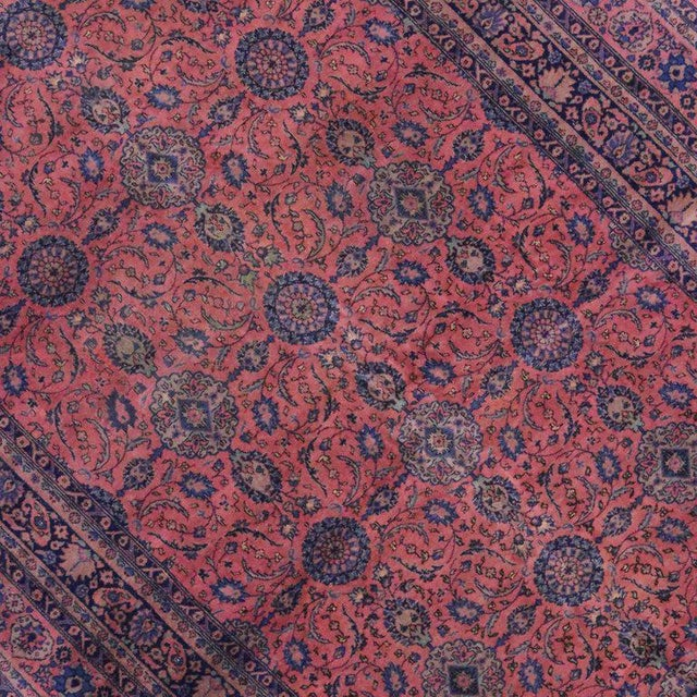 Jewel-Tone Antique Turkish Sparta Gallery Rug For Sale - Image 4 of 8