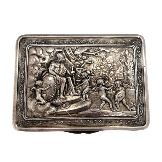 Early 19th Century 19th Century Russian Silver Box by P. Muller 1828 For Sale - Image 5 of 6