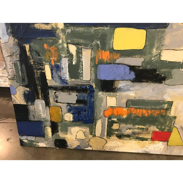 Abstract Abstract by Noted Palm Springs Artist Jeff King For Sale - Image 3 of 9