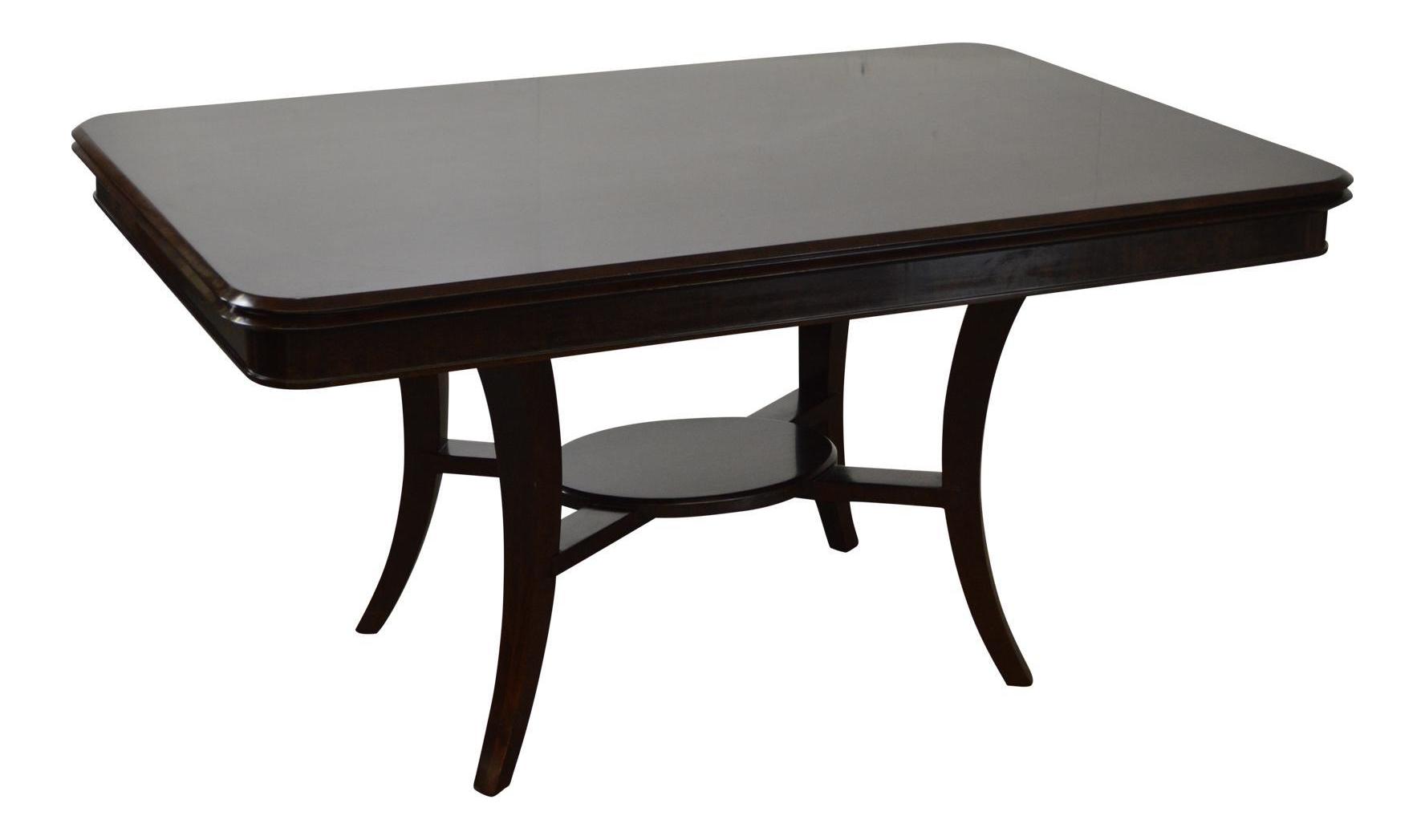 Jonathan Charles Kallos Custom Mahogany Dining Table