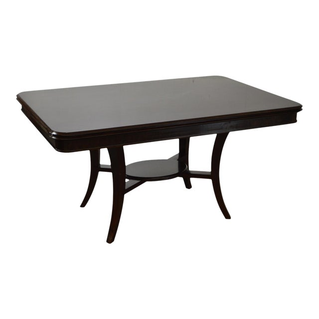 Jonathan Charles Kallos Custom Mahogany Dining Table - Image 1 of 11
