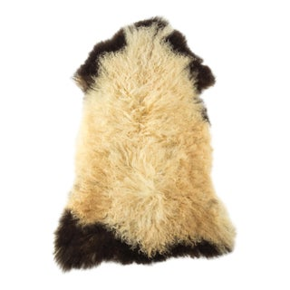 "Hand-Tanned Sheepskin Pelt Rug - 2'3""x3'2"" For Sale"