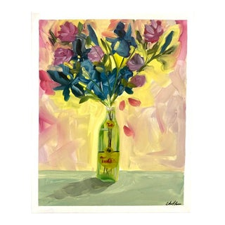 """""""Topo Chico Flower Vase"""" Painting For Sale"""
