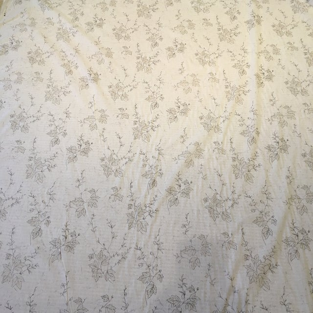 French Country Traditional Osborne and Little Sheer Fabric For Sale - Image 3 of 4