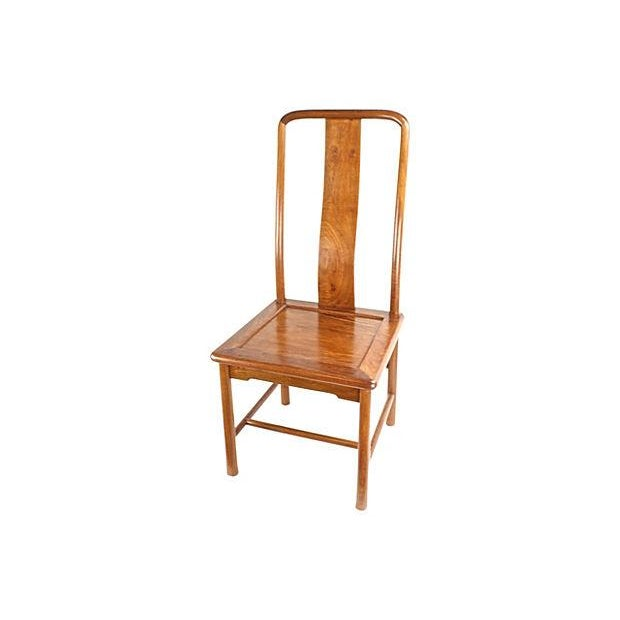 Modern Ming-Style Huali Chairs - A Pair - Image 4 of 5