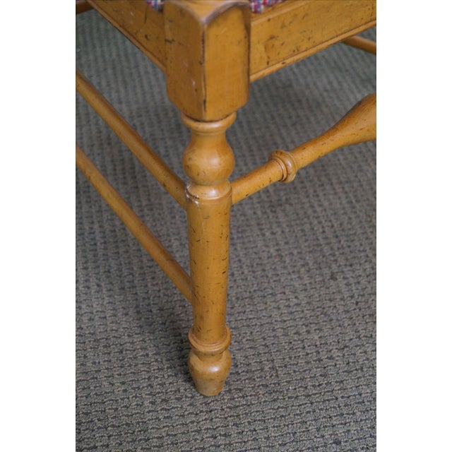 Drexel Heritage Bannister Back Dining Chairs - 4 - Image 6 of 10