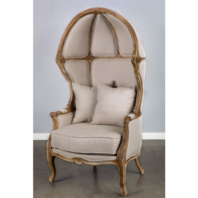 Beige Balloon Accent Chair - Image 2 of 4