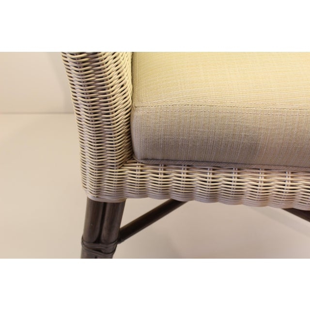 McGuire Thomas Pheasant Woven Core Dining Side Chair - Image 4 of 5