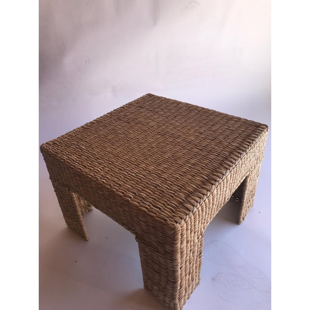 2010s Mario Lopez Torres Woven Parsons Table For Sale - Image 5 of 7