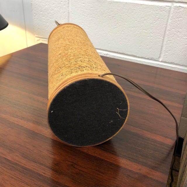 Gregory Van Pelt Corrugated Cardboard Lamp For Sale In Richmond - Image 6 of 8