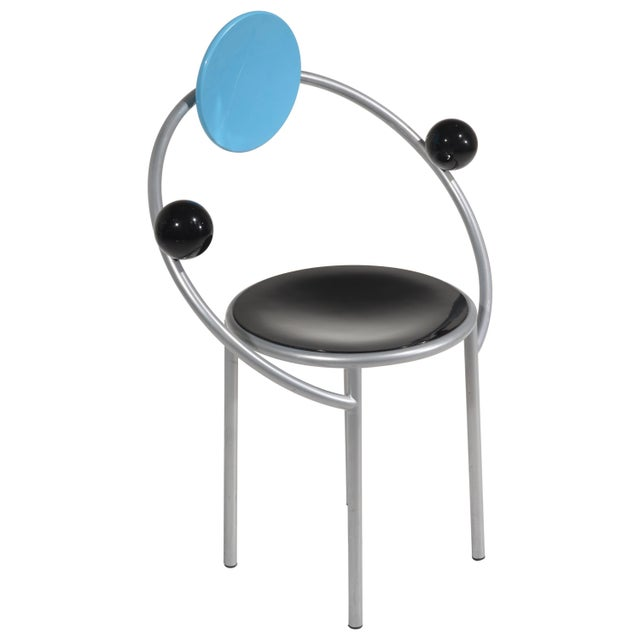 Michele De Lucchi First Chair for Memphis, Milano For Sale - Image 13 of 13