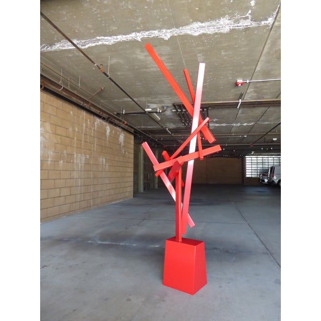 """2010s """"Tropic of Capricorn"""" a Contemporary Abstract Sculpture by American Artist Joey Vaiasuso For Sale - Image 5 of 13"""
