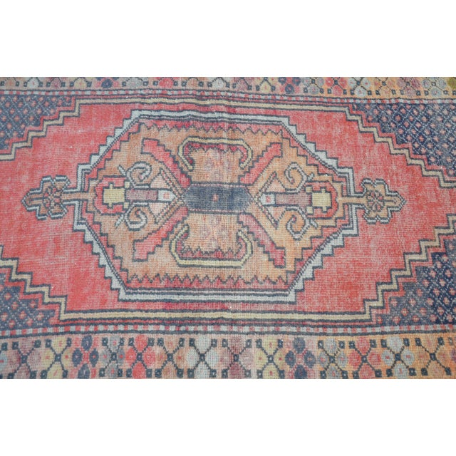 Anatolian Tribal Handwoven Rug - 3′5″ × 6′2″ - Image 5 of 6