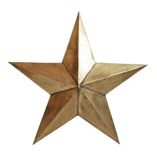 Metal Star Wall Hanging For Sale