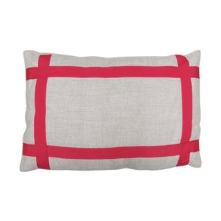 """Oomph Pink """"Hashtag"""" Pillows - Pair For Sale"""