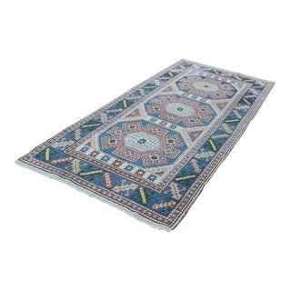 Turkish Nigde Handmade Rug - 3′ × 6′8″