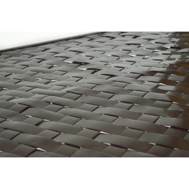Woven Metal Coffee Table by Dakota Jackson - Image 5 of 6