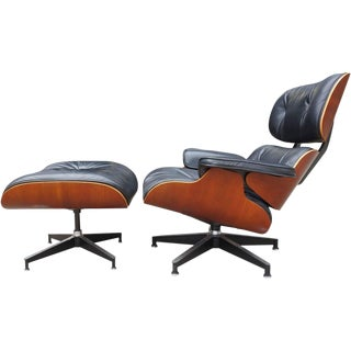Eames Lounge Chair 670 and Ottoman for Herman Miller