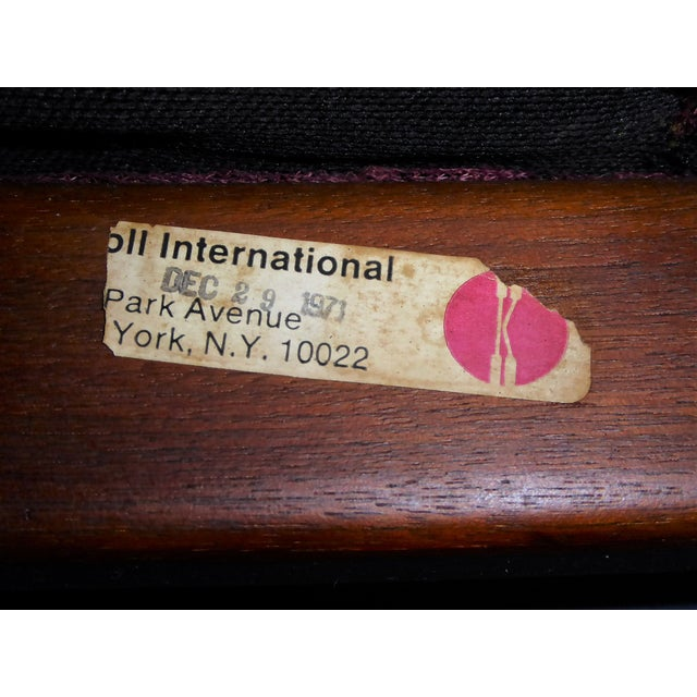 1970s Vintage Bill Stephens For Knoll International Club Lounge Chair For Sale - Image 10 of 12
