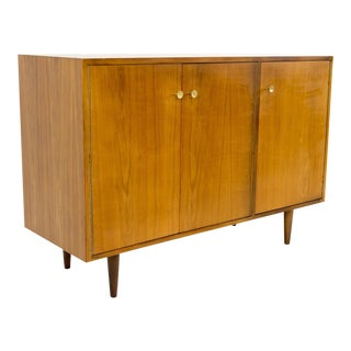 Milo Baughman for Glenn of California Small Media Console Sideboard Credenza For Sale