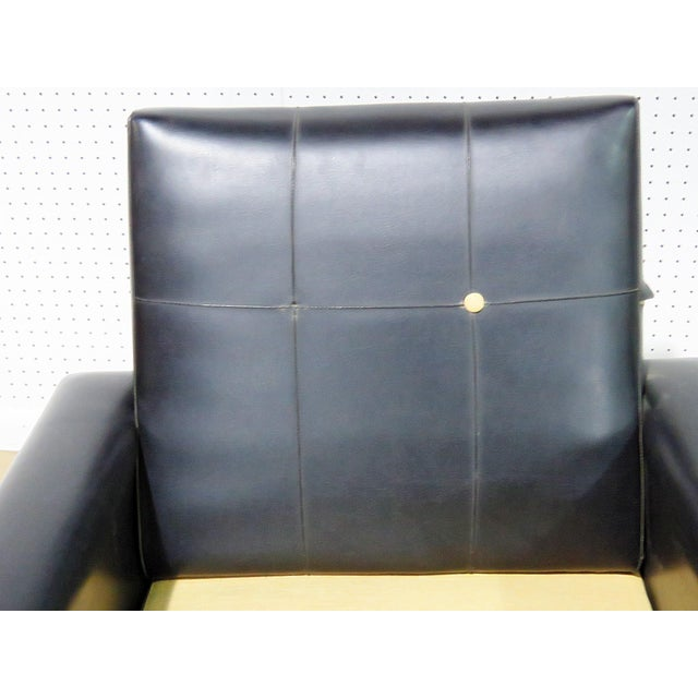 Mid Century Vintage Italian Arm Chairs - a Pair For Sale - Image 9 of 11